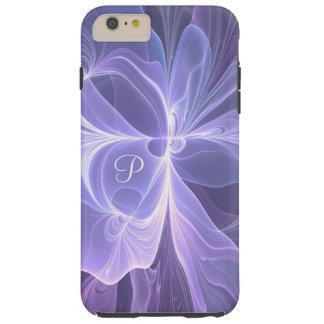Monogram Purple Abstract Modern Fractal Tough iPhone 6 Plus Case