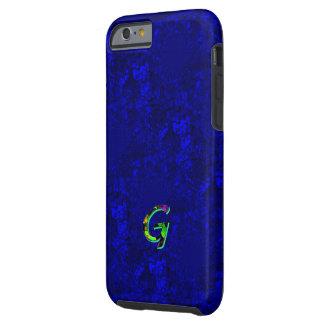 Monogram Purple Veined iPhone 6 case Tough iPhone 6 Case
