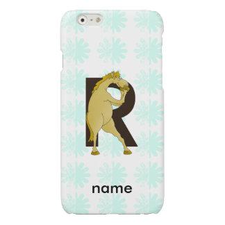 Monogram R Agile Pony Personalised iPhone 6 Plus Case