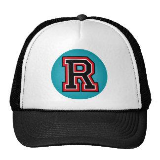 """Monogram """"R"""" Initial Cap"""