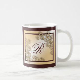 Monogram 'R' Mug