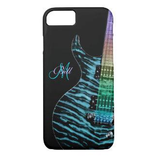 Monogram Rainbow Neck Guitar iPhone 7 Case