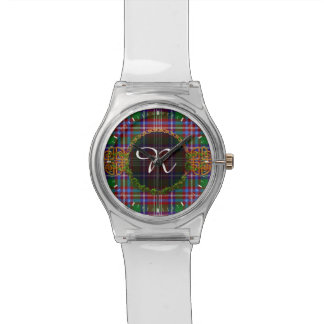 Monogram Ritchie Tartan Watch