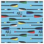 Monogram Rowing Oars Fabric