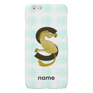 Monogram S Flexible Horse Personalised iPhone 6 Plus Case