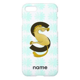 Monogram S Flexible Horse Personalised iPhone 7 Case