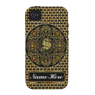 Monogram S Vibe 2 Important View Notes Please Case-Mate iPhone 4 Covers