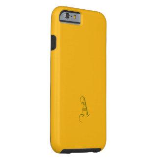 Monogram Saffron Tone iPhone case Tough iPhone 6 Case
