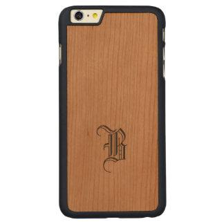 Monogram Samsung iPhone Slim Wood Case Carved® Cherry iPhone 6 Plus Case