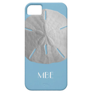 Monogram Sand Dollar on Light Blue Case For The iPhone 5