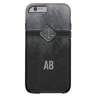 Monogram Scales of Justice Tough iPhone 6 Case