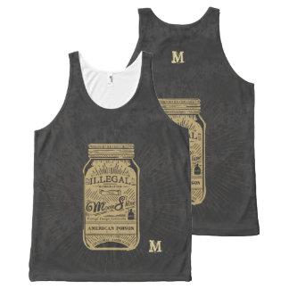 Monogram Series: Americana Moonshine. All-Over Print Tank Top