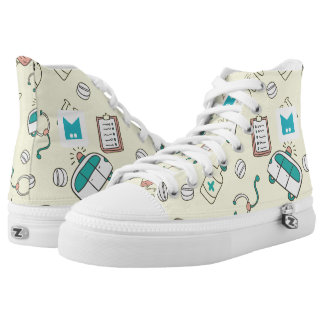 Monogram Series: for Doctors Dentists. Printed Shoes