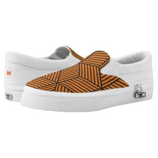 Monogram Series: Geometric Pattern. Printed Shoes