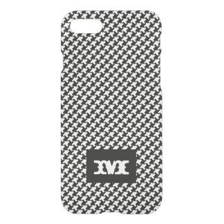 Monogram Series: Houndstooth Pattern. iPhone 8/7 Case