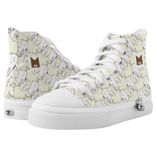 Monogram Series: Kawaii Cute Cats. Printed Shoes
