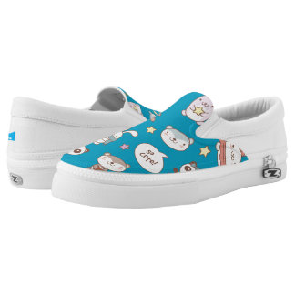 Monogram Series: Kawaii Cute Little Forest Animals Slip-On Shoes