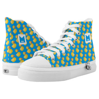 Monogram Series: Kawaii Cute Rubber Ducks. Printed Shoes