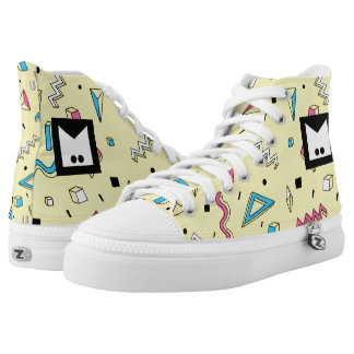 Monogram Series: Memphis Stuck in the Eighties Printed Shoes