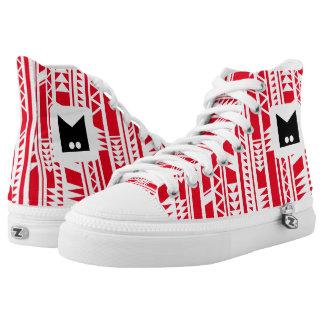 Monogram Series: Modern Tribal. Geometric. Printed Shoes