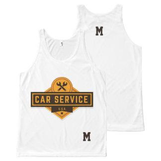 Monogram Series: Real American Car Service. All-Over Print Tank Top