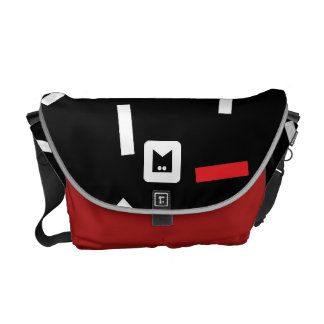 Monogram Series: Retro Eighties Courier Bag