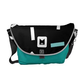 Monogram Series: Retro Eighties Messenger Bag