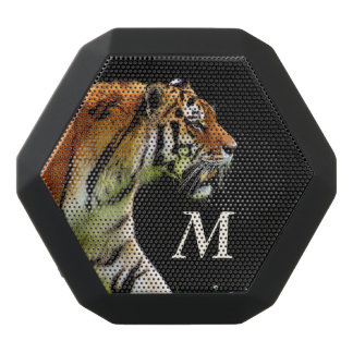 Monogram Series: The Tiger. Black Bluetooth Speaker