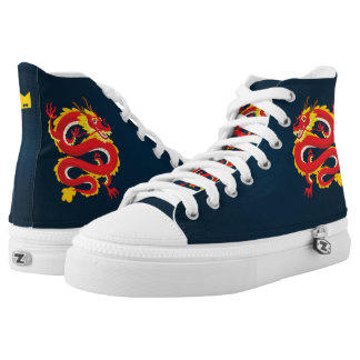 Monogram Series: Traditional Chinese Dragon. High Tops