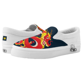 Monogram Series: Traditional Chinese Dragon. Slip-On Shoes