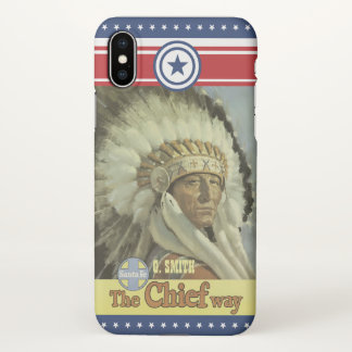 Monogram Series: Vintage New Mexico. Indian. iPhone X Case