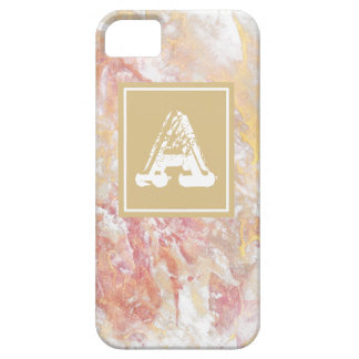 Monogram shiny abstract iPhone 5 case