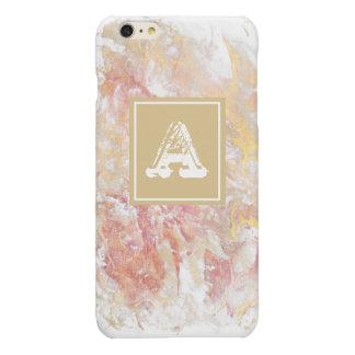 Monogram shiny abstract iPhone 6 plus case