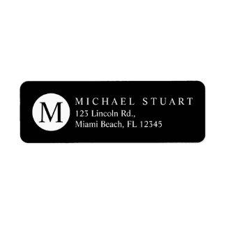Monogram   Simple Modern Minimalist Custom Color