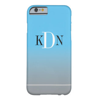 MONOGRAM  | simply add you initials Barely There iPhone 6 Case