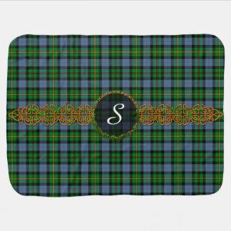 Monogram Smith Tartan Baby Blanket