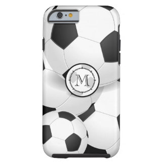 Monogram Soccer Ball iPhone Case