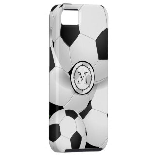 Monogram Soccer Ball iPhone Case iPhone 5 Case