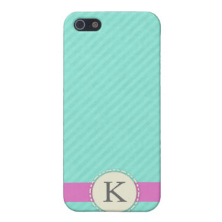 Monogram Speck® Fitted™ Hard Shell Case for iPhone iPhone 5/5S Case