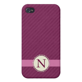 Monogram Speck® Fitted™ Hard Shell Case for iPhone iPhone 4 Cases