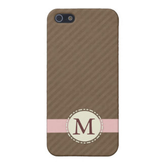 Monogram Speck® Fitted™ Hard Shell Case for iPhone iPhone 5/5S Covers