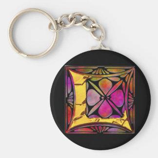 Monogram: Stainglass L Key Ring