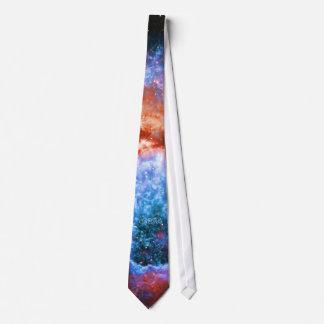 Monogram Star Birth in Constellation Cygnus Tie