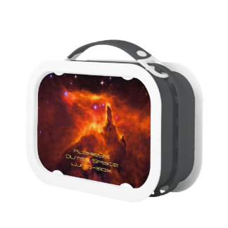 Monogram, Star Cluster Pismis 24 outer space image Lunch Boxes