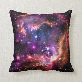 Monogram Starry Wingtip of Small Magellanic Cloud Cushion