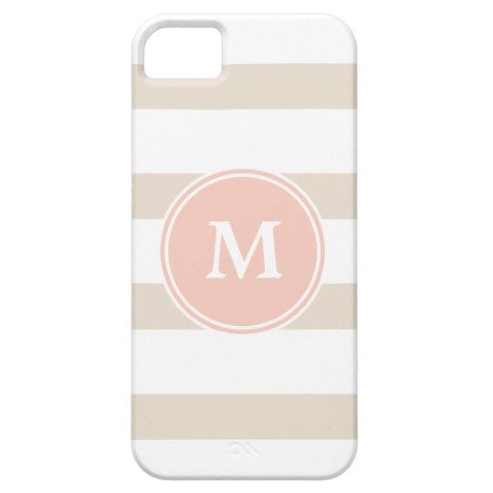Monogram Stripe Iphone 5 Case