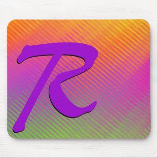 Monogram Sunshine Rainbow Mouse Pad Mousepads