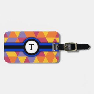 Monogram T Luggage Tag