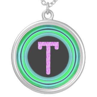 """Monogram """"T"""" Pendants"""