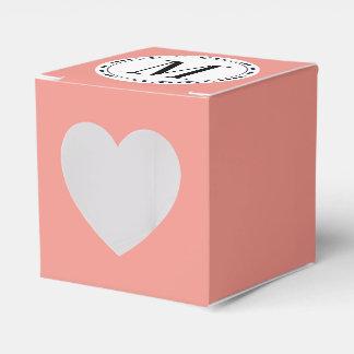 Monogram template favour box